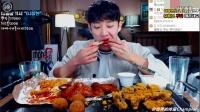 【臻美食】【韩国吃播】【吧唧嘴】昌贤欧巴吃炸鸡、芝士球、烤鸡腿