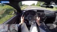 宝马M4轻量化版本德国高速主视角体验