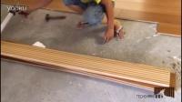 泰鲨木地板安装方法