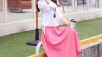2016秋装韩版时尚复古棉麻修身显瘦长袖连衣裙女两件套文艺长