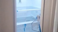 惠而浦智能冰箱开门后自动关门