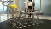 重力下滑转弯装置 不必机器人 低成本的智能自动化