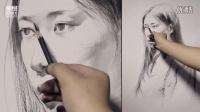 素描头像视频 我的梦中国梦绘画图片