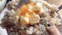 海苔碎芝士鸡蛋饭团❤美食
