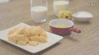 清凉一夏哈密瓜瓜盅冰淇淋