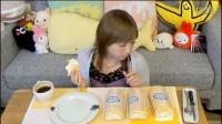 【吃货木下】五个泡芙奶油蛋糕卷 1.8kg,满满奶油与热量!