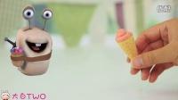 白白侠食玩秀:泰国零食 樱桃味牙膏甜筒冰淇淋DIY_超清