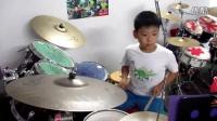 视频: 万博《爱拼才会赢》鼓立方 架子鼓练习20160826