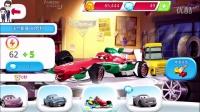 赛车总动员第57期:奇诺是辆小叉车★小汽车玩具游戏