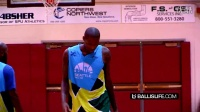 Jamal Crawford Makes Defender FALL _ Hits The And1 in Seattle Pro Am Chip!!!!