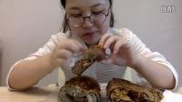 中国吃播大脸妇女 原麦山丘面包 麻瓜+古早味