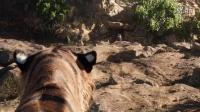 奇幻森林精彩片段老虎谢利可汗秒杀头狼