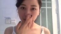 『美女与WIS』性感美女刘一朵素颜分享清理顽固黑头三部曲