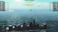 海战世界-德系-九级-重巡-P计划-三万七千伤害-双杀-Lion老虎解说