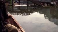凤凰旅游—坐农家小船感受沱江两岸风景— 船在河中走  人在画中游MVI_4618