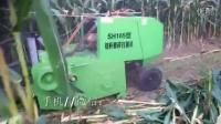 玉米秸秆打捆机玉米秸秆粉碎青贮回收打捆机视频