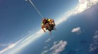【旅美男中音刘文俊】夏威夷高空跳伞