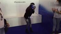 【vr资源社】妹子体验 PS VR 吓傻了都[高清].qsv_vr_vr资源_vr福利_vr游戏_vr美女_