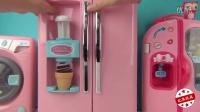 小猪佩奇能做冰淇淋的玩具冰箱