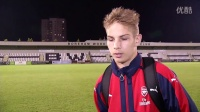 埃弗顿U23主 Emile Smith-Rowe reflects on his Arsenal under-23s debut