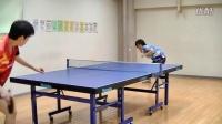 【怪咖搞笑】乒乓球神人一边一边特技击球