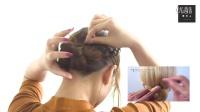 編み込みアップヘア&フィッシュボーン ハーフアップアレンジ (1)