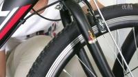 凤凰自行车前轮和挡泥板安装视频