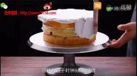 蛋糕胚抹面视频教程-淡奶油抹面 韩式裱花奶油霜抹面视频-甜喵喵的烘焙屋