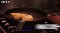 营养美味的三分钟快捷早餐之慢煎三文鱼~尝试做一下吧!
