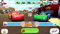 赛车总动员第63期:闪电麦昆的赛道★小汽车玩具游戏