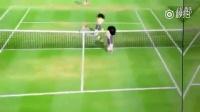 这个异常激烈的网球比赛肯定是中了《网球王子》的毒