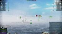 海战世界-战巡-胡德-五杀-远东铁甲舰-战报-Lion老虎解说