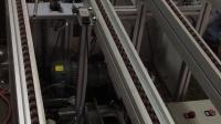 汽车空调压缩机倍速链输送线调试中