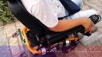 伊凯双人电动轮椅BK68S老年人残疾人代步车