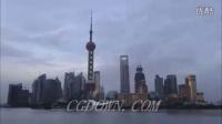 上海外滩东方明珠延时拍摄,上海高清实拍视频素材来自西橘网