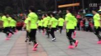 吉林市鸿博景园曳舞队在2016年10月3日龙潭山表演~吉林市金秋十月曳舞飞扬鬼步舞表演