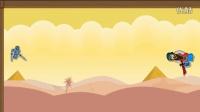 Floppy Heroes#2 用双刃剑将两个boss的头斩首,成功通关!!!!(力挺逆风笑抽风中国boy手残联盟逍遥小枫籽岷坑爹哥舍长驾到小熊flippy)