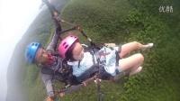 江西五峰滑翔伞飞行基地老虎妹妹的飞行体验