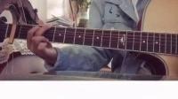 中国好声音!甜美妹子吉他温柔弹唱《小幸运》