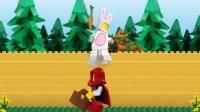 乐高城市:乐高快乐小红帽的故事儿童成长游戏视频