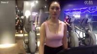 熊猫tv美女主播甜菜玉BABY10.11健身房教你怎么练胸肌