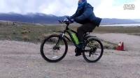 昆博独角兽助力山地车极速档上35度陡坡测试视频
