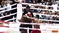 Tun Tun Min Vs Cyrus 无拳套的缅甸拳比赛