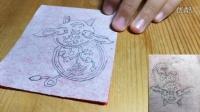 十二生肖剪纸——猪