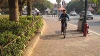 放假骑单车到大锅底打篮球(2012年11月2日新会)