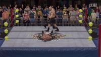 【WWE2K17】抢先看  战神高柏大战野兽布洛克-莱斯纳