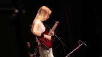 [翻唱集合营]外国年轻美女弹奏卡农Canon Rock,Y