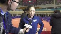 [乒超女团第二轮]刘诗雯赛后采访:失败因不够专注,体力精力没跟上!