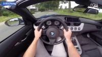 主视角记录试驾宝马BMW Z4 35is 340马力双离合