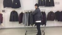 品牌男装正品外套尾货批发视频